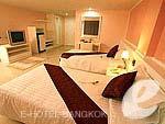 バンコク スワンナプーム空港周辺のホテル : コンビニエント グランド ホテル(Convenient Grand Hotel)のスーペリア(ツイン/ダブル)ルームの設備 Room View