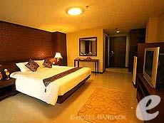 バンコク スワンナプーム空港周辺のホテル : コンビニエント グランド ホテル(Convenient Grand Hotel)のお部屋「スーペリア(ツイン/ダブル)」