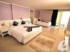 バンコク スワンナプーム空港周辺のホテル : コンビニエント グランド ホテル(Convenient Grand Hotel)のお部屋「ファミリー ルーム」