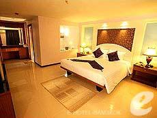 バンコク スワンナプーム空港周辺のホテル : コンビニエント グランド ホテル(Convenient Grand Hotel)のお部屋「エンペラー スイート ルーム」