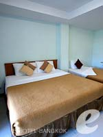バンコク スワンナプーム空港周辺のホテル : コンビニエント リゾート バンコク(Convenient Resort Bangkok)のスーペリア ツインルームの設備 Bedroom