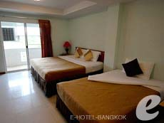 バンコク スワンナプーム空港周辺のホテル : コンビニエント リゾート バンコク(Convenient Resort Bangkok)のお部屋「スーペリア ツイン」