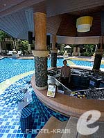 Pool Bar : Crown Lanta Resort And Spa, Pool Access Room, Phuket