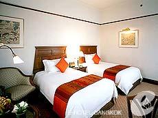 バンコク カップル&ハネムーンのホテル : クラウン プラザ バンコク ルンピニ パーク(Crowne Plaza Bangkok Lumpini Park)のお部屋「スーペリア」