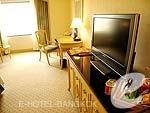 バンコク ファミリー&グループのホテル : クラウン プラザ バンコク ルンピニ パーク(Crowne Plaza Bangkok Lumpini Park)のデラックスルームの設備 AV Facilities