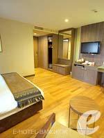 バンコク シーロム・サトーン周辺のホテル : ディー ヴァリー ディバ バリー シーロム(D Varee Diva Bally Silom)のプレミアルームの設備 Bedroom