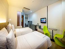 プーケット プーケットタウンのホテル : ダラ ホテル(1)のお部屋「デラックス ビルディング1」