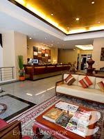バンコク インターネット接続(無料)のホテル : デ アーニー バンコク 「Lobby」