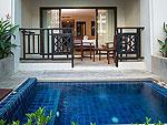 プーケット パトンビーチのホテル : ディーヴァナ パトン リゾート & スパ(Deevana Patong Resort & Spa)のデラックス(ウィズ ジャグジー)ルームの設備 Jacuzzi