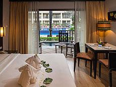プーケット パトンビーチのホテル : ディーヴァナ パトン リゾート & スパ(1)のお部屋「デラックス(ウィズ ジャグジー)」
