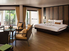 プーケット パトンビーチのホテル : ディーヴァナ パトン リゾート & スパ(1)のお部屋「ジュニア スイート」