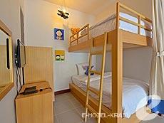 クラビ 10,000~20,000円のホテル : ディーヴァナ プラザ クラビ(1)のお部屋「ファミリー ルーム」