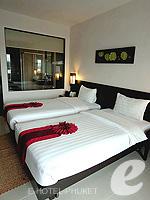 プーケット 10,000~20,000円のホテル : ディーヴァナ プラザ プーケット(Deevana Plaza Phuket)のデラックス プール ビュールームの設備 Bedroom