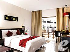 プーケット 10,000~20,000円のホテル : ディーヴァナ プラザ プーケット(1)のお部屋「デラックス プール ビュー」