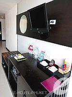 プーケット 10,000~20,000円のホテル : ディーヴァナ プラザ プーケット(Deevana Plaza Phuket)のプレミア プール ビュールームの設備 Living Room