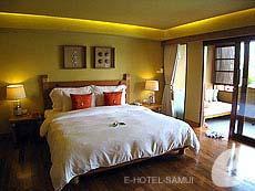 サムイ島 チョンモーンビーチのホテル : デヴァ サムイ リゾート & スパ(1)のお部屋「デラックス」