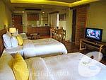 サムイ島 チョンモーンビーチのホテル : デヴァ サムイ リゾート & スパ(Deva Beach Resort & Spa)のグランド デラックスルームの設備 Bedroom