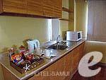 サムイ島 チョンモーンビーチのホテル : デヴァ サムイ リゾート & スパ(Deva Beach Resort & Spa)のグランド デラックスルームの設備 Pantry Area