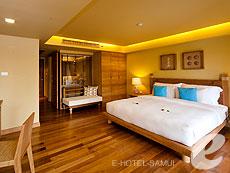 サムイ島 チョンモーンビーチのホテル : デヴァ サムイ リゾート & スパ(1)のお部屋「デラックス プール アクセス」