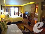 サムイ島 チョンモーンビーチのホテル : デヴァ サムイ リゾート & スパ(Deva Beach Resort & Spa)のグランド デラックス プール アクセスルームの設備 Bedroom