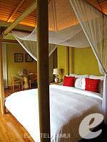 サムイ島 チョンモーンビーチのホテル : デヴァ サムイ リゾート & スパ(Deva Beach Resort & Spa)のプールヴィラルームの設備 Bedroom