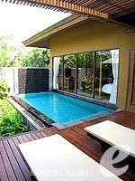 サムイ島 チョンモーンビーチのホテル : デヴァ サムイ リゾート & スパ(Deva Beach Resort & Spa)のプールヴィラルームの設備 Private Pool