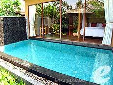 サムイ島 チョンモーンビーチのホテル : デヴァ サムイ リゾート & スパ(1)のお部屋「プールヴィラ」