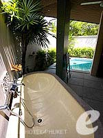 Outdoor Bathtub : Pool Villa at Dewa Phuket, Serviced Villa, Phuket