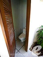 Toilet : Pool Villa at Dewa Phuket, Serviced Villa, Phuket