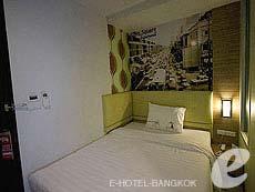 バンコク ファミリー&グループのホテル : DS67 スイーツ バンコク(DS67 Suites Bangkok)のお部屋「スタンダード シングル」