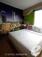 バンコク ファミリー&グループのホテル : DS67 スイーツ バンコク(DS67 Suites Bangkok)のデラックスルームの設備 Bedroom