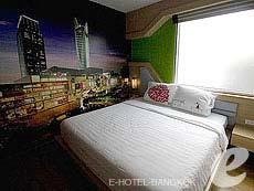 バンコク ファミリー&グループのホテル : DS67 スイーツ バンコク(DS67 Suites Bangkok)のお部屋「デラックス」