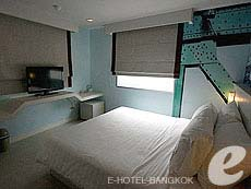 バンコク ファミリー&グループのホテル : DS67 スイーツ バンコク(DS67 Suites Bangkok)のお部屋「スーペリア」