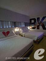 バンコク ファミリー&グループのホテル : DS67 スイーツ バンコク(DS67 Suites Bangkok)のグランド デラックス(4名)ルームの設備 Bedroom