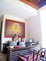 Spa Reception : Duangjitt Resort & Spa, Patong Beach, Phuket