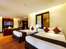 プーケット 5,000円以下のホテル : ドゥアンジット リゾート&スパ(1)のお部屋「スイート」