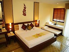 プーケット 5,000円以下のホテル : ドゥアンジット リゾート&スパ(1)のお部屋「デラックス ガーデン ウィング(シングル)」