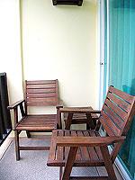 プーケット 5,000円以下のホテル : ドゥアンジット リゾート&スパ(Duangjitt Resort & Spa)のデラックス ガーデン ウィング(ツイン/ダブル)ルームの設備 Balcony