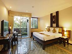プーケット 5,000円以下のホテル : ドゥアンジット リゾート&スパ(1)のお部屋「デラックス ガサロン(ツイン/ダブル)」
