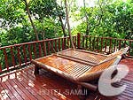 サムイ島 タオ島のホテル : ドゥシットブンチャ リゾート(Dusit Buncha Resort)のスーペリア ヴィラルームの設備 Terrace