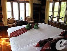 サムイ島 タオ島のホテル : ドゥシットブンチャ リゾート(1)のお部屋「スーペリア ヴィラ」