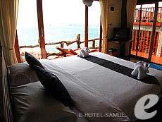 サムイ島 タオ島のホテル : ドゥシットブンチャ リゾート(1)のお部屋「デラックス ヴィラ サンセット」