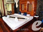サムイ島 タオ島のホテル : ドゥシットブンチャ リゾート(Dusit Buncha Resort)のデラックス ヴィラ ロマンティック シーサイドルームの設備 Room View