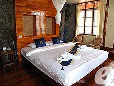 サムイ島 タオ島のホテル : ドゥシットブンチャ リゾート(1)のお部屋「デラックス ヴィラ ロマンティック シーサイド」