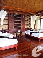 サムイ島 タオ島のホテル : ドゥシットブンチャ リゾート(Dusit Buncha Resort)のジュニア スイート ヴィラルームの設備 Balcony