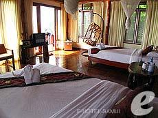 サムイ島 タオ島のホテル : ドゥシットブンチャ リゾート(1)のお部屋「ジュニア スイート ヴィラ」