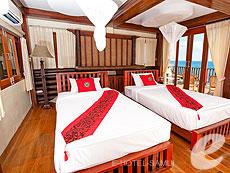 サムイ島 タオ島のホテル : ドゥシットブンチャ リゾート(1)のお部屋「ファミリー スイート ヴィラ」
