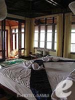 サムイ島 タオ島のホテル : ドゥシットブンチャ リゾート(Dusit Buncha Resort)のパラダイスシーサイドヴィラルームの設備 Room View