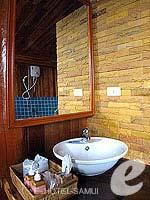 サムイ島 タオ島のホテル : ドゥシットブンチャ リゾート(Dusit Buncha Resort)のパラダイスシーサイドヴィラルームの設備 Balcony