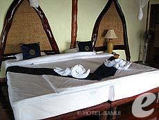 サムイ島 タオ島のホテル : ドゥシットブンチャ リゾート(1)のお部屋「パラダイスシーサイドヴィラ」